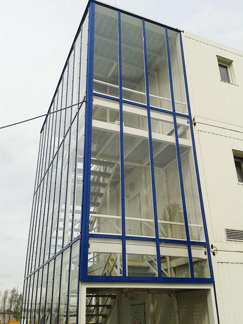 Opláštění budov